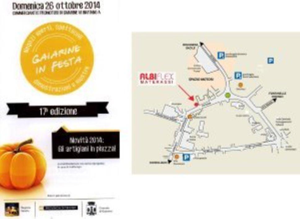 """Stand presso """"Gaiarine in Festa"""" a ottobre (ogni anno dal 2014)"""