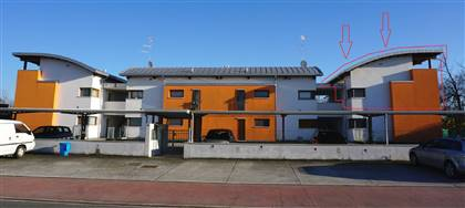 In vendita a Campoformido appartamento del 2008: tre camere, due servizi, terrazza, posti auto. Vieni a vedere la tua nuova casa.