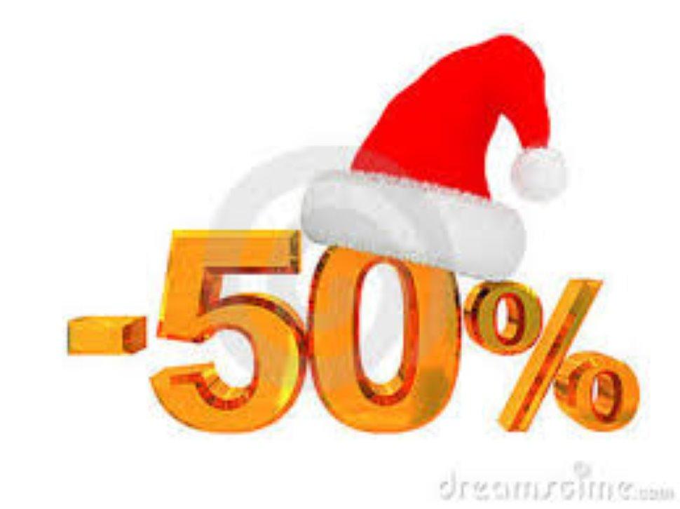 Sconto 50 % su prodotti a magazzino !!!!