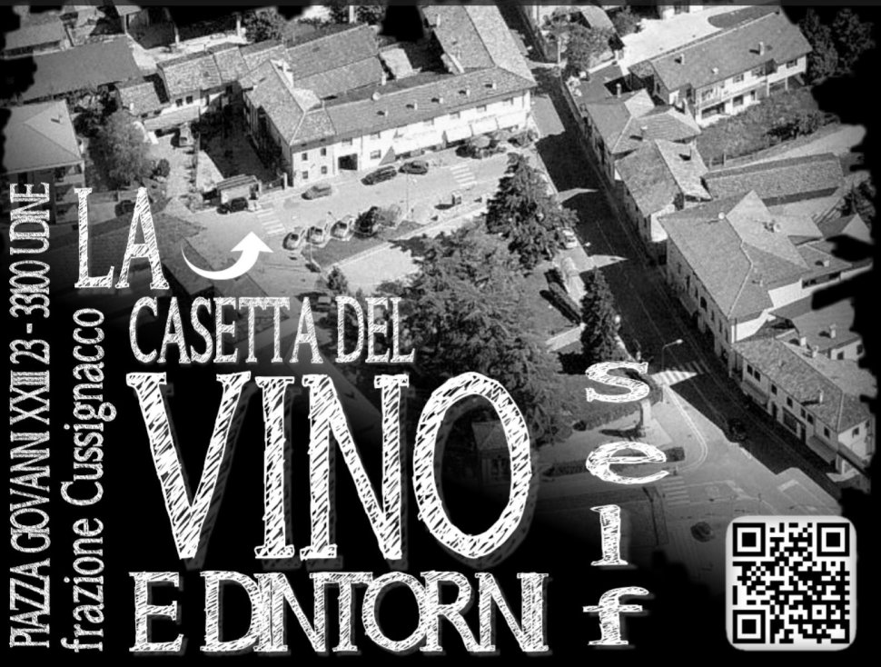 """Siamo la """"La Casetta del Vino"""" Self prima realtà in F.V.G. che ha deciso di diffondere la cultura del vino sfuso!!!"""