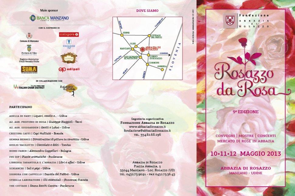Mostra mercato di rose antiche, moderne e artigianato tematico