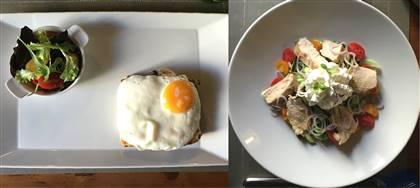 Business Lunch di ottobre. Scegli tra: gnocchi di zucca, baccalà mantecato, e altri sei gustosi piatti completi
