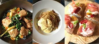 Business Lunch di giugno. Scegli tra: croque Madame, insalatona di pesce, tagliata di pollo e altri cinque gustosi piatti unici