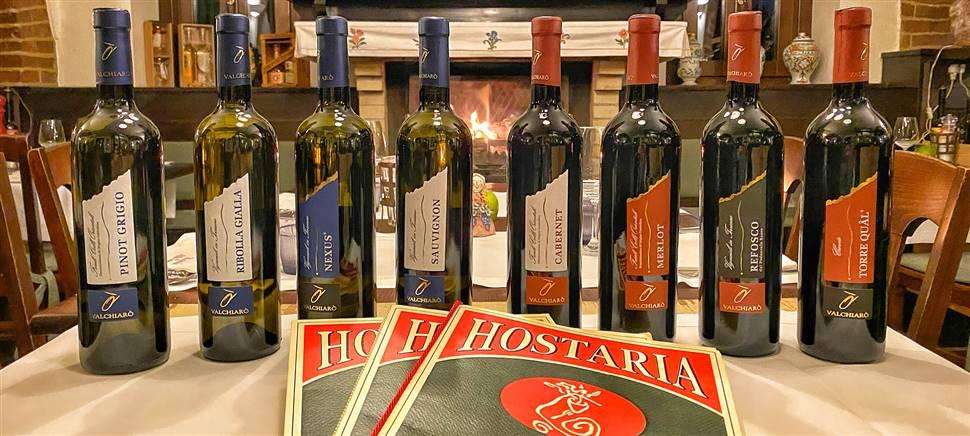 Carciofi, bottarga, cervo sono solo alcuni degli ingredienti del nostro menù di febbraio. Vieni a gustarlo insieme ai vini Valchiarò.
