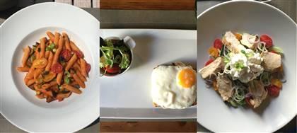 Business Lunch di luglio. Scegli tra: pennette alle verdure, crema di pomodoro, tagliata di manzo e altri gustosi piatti unici