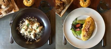 Business Lunch di novembre. Scegli tra: gnocchi di ricotta, puntarelle, omelette, e altri 5 gustosi piatti completi