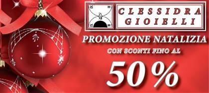 Fino al 31/12 vieni a scoprire la nostra promozione natalizia: anelli, bracciali, orecchini, orologi  scontati fino al 50%