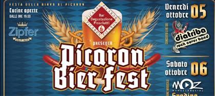 Non perderti la Picaron Bier Fest il 5 e 6 ottobre! Due giorni dedicati alla birra, alla buona tavola e alla grande musica! Vieni a divertirti