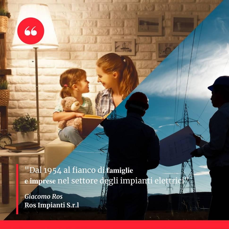 Ros Impianti S.r.l - Impianti elettrici civili ed industriali