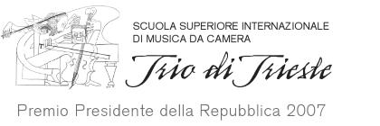 "Scuola Superiore Internazionale di Musica da Camera ""Trio di Trieste"" - Duino"