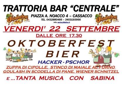 """TRATTORIA """"BAR CENTRALE"""" - Cassacco"""