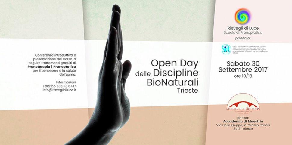 OPEN DAY DELLE DISCIPLINE BIONATURALI: PRANOTERAPIA - PRANOPRATICA