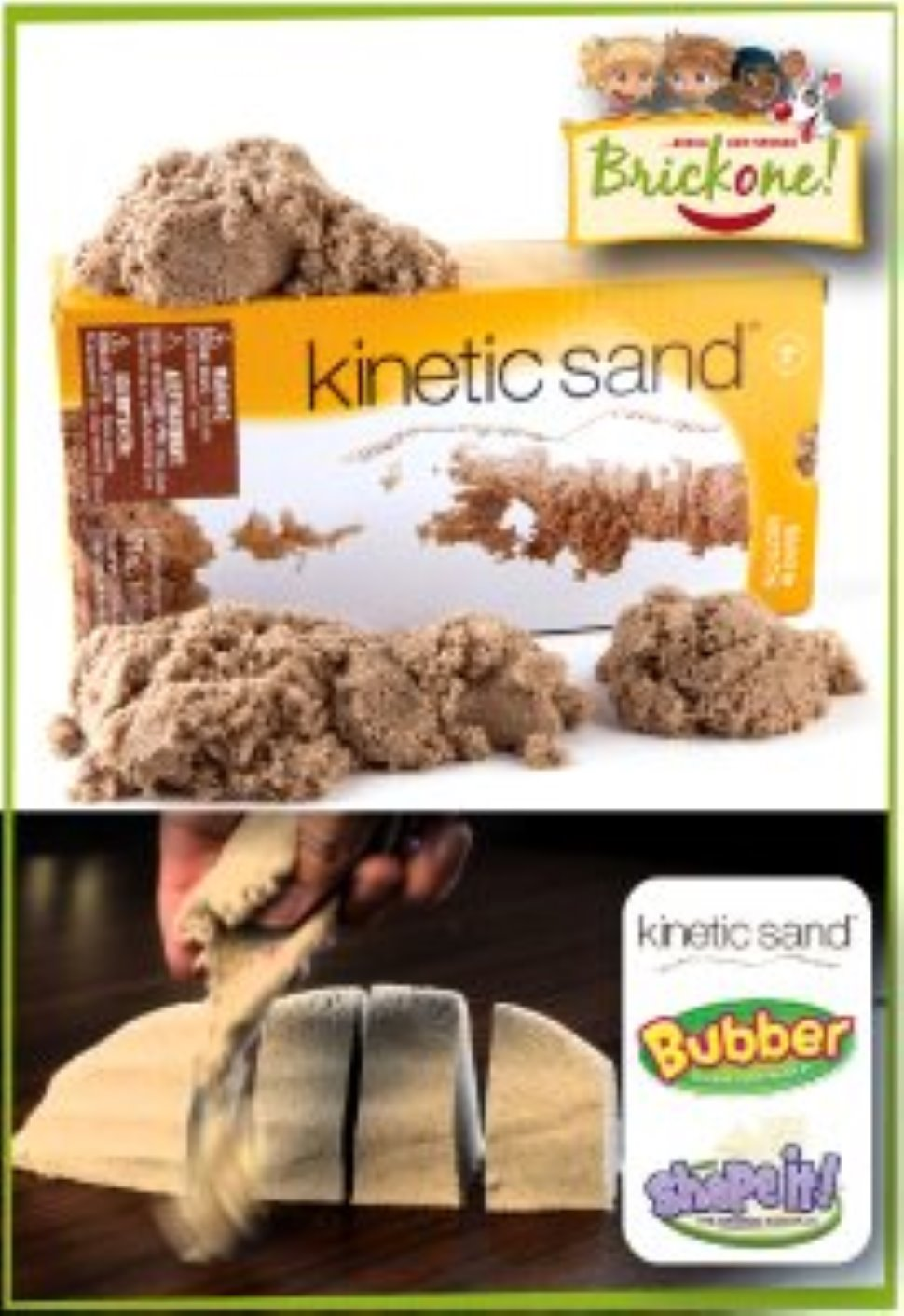 Sabbia Cinetica a Udine - Kinetic Sand