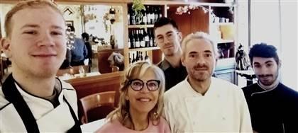Vieni a ritrovare l'atmosfera familiare del nostro ristorante: giuste distanze e un menù con nuove stuzzicanti proposte