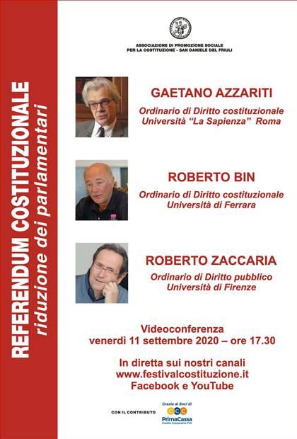ASSOCIAZIONE PER LA COSTITUZIONE - San Daniele del Friuli