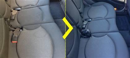 I tuoi figli hanno riempito l'interno dell'auto di macchie, sabbia, briciole? Portala da noi: come nuova in 24 ore. A partire da 20€
