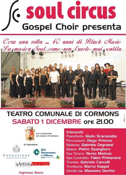 Soul Circus Gospel Choir - Scuola Comunale di Musica