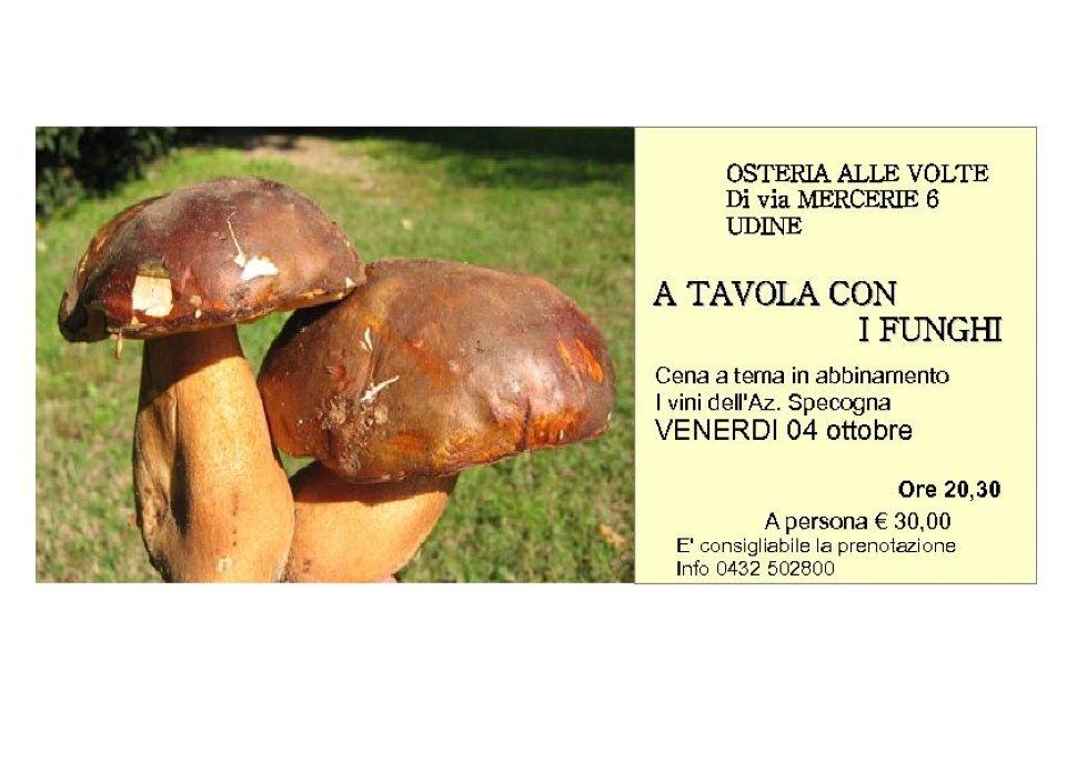 A Tavola con i funghi