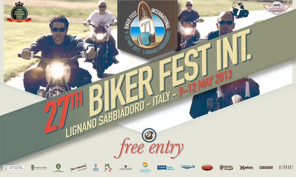 FORMULA 1 Partecipa al 27° BIKER FEST 2013
