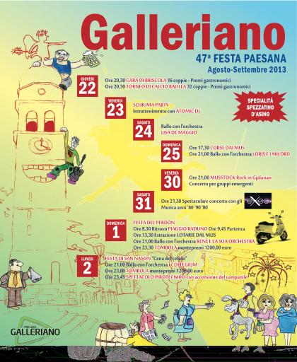 Pro Loco Galleriano - Galleriano