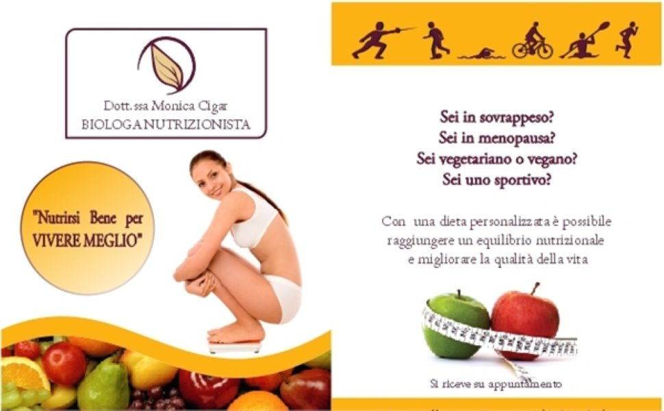 Dott.ssa MONICA CIGAR Biologa Nutrizionista - Trieste