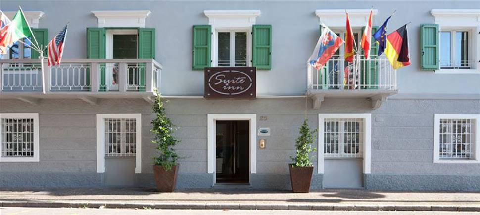 Bikehotel Suite Inn Udine auf dem Alpe Adria Radweg: Bikepark, Frühstücksbuffet, Wäscheservice, Bike Verleih, Bikeshop, persönliche Betreuung.