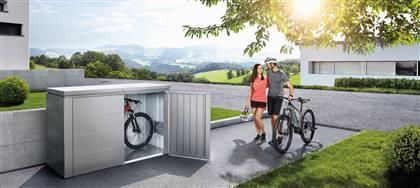 I box e i bauli in metallo Biohort sono una soluzione versatile e di design per il tuo giardino o attico. Contattaci per trovare la soluzione più adatta