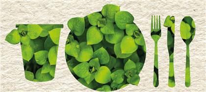 Rendi la tua attività nella ristorazione più sostenibile: per il catering e i prodotti da asporto scegli piatti, posate, bicchieri compostabili