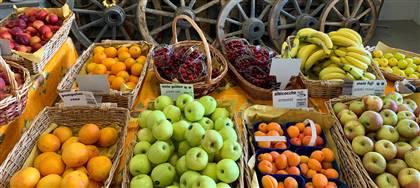 Nella nostra rivendita c'è tutta la frutta di stagione gustosa e colorata che desideri: pesche, albicocche, fragole, ciliegie, prugne, meloni, angurie