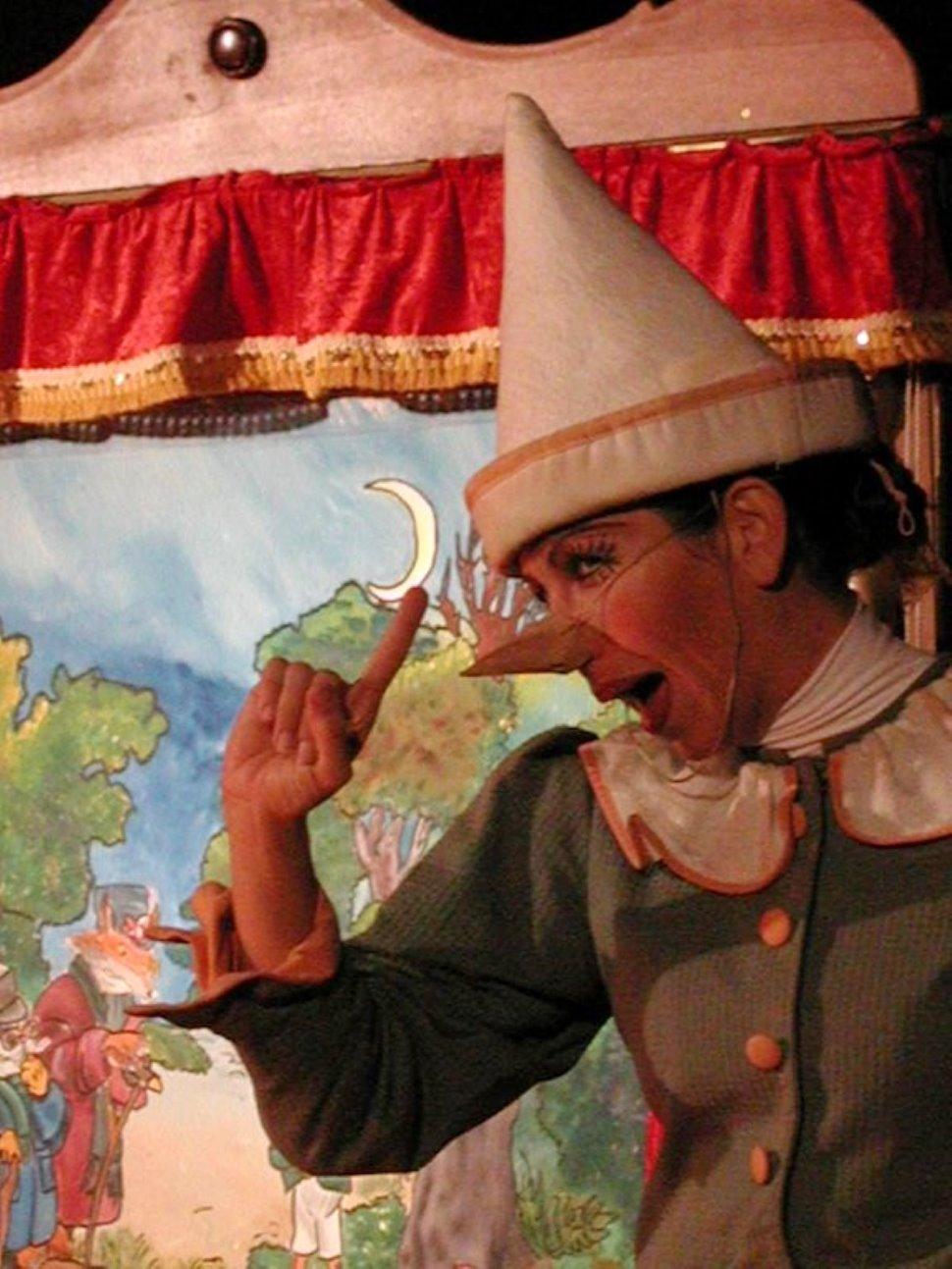 """PINOCCHIO CANTASTORIE - """"Un teatro per i più piccoli"""" a Mussolente"""