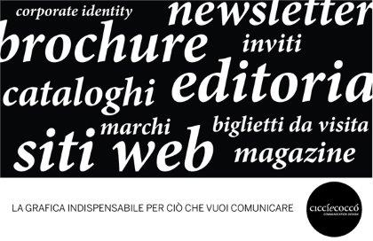 CICCÌECOCCÒ communication design - San Daniele del Friuli