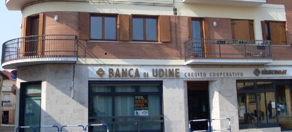 Vieni in Piazza Unione a Bressa  a conoscere i nostri servizi. Banca di Udine: a pochi metri da te