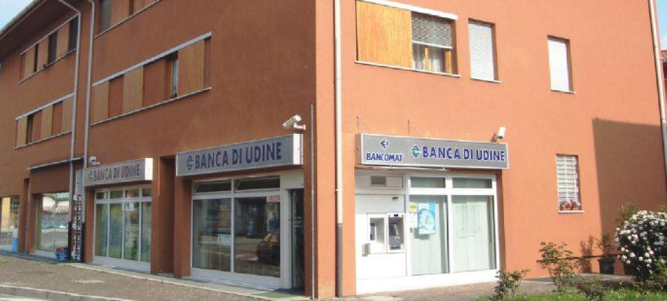 Vieni in via Pazzan a Pagnacco a conoscere i nostri servizi. Banca di Udine: a pochi metri da te
