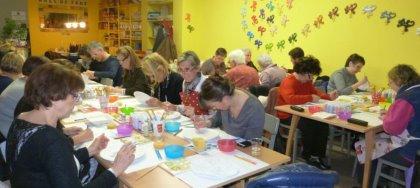 Il 25/09 workshop di pittura da Ceramichiamo, Udine Via Roma 43/4 (Corte Roma). Divertimento a pennello!