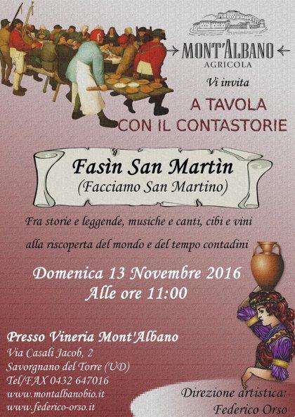 A TAVOLA CON IL CONTASTORIE - FASìN SAN MARTìN