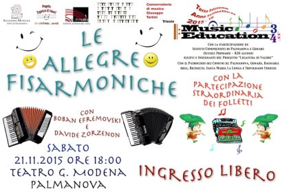 Music Education 3^ edizione, a.s. 2015-16