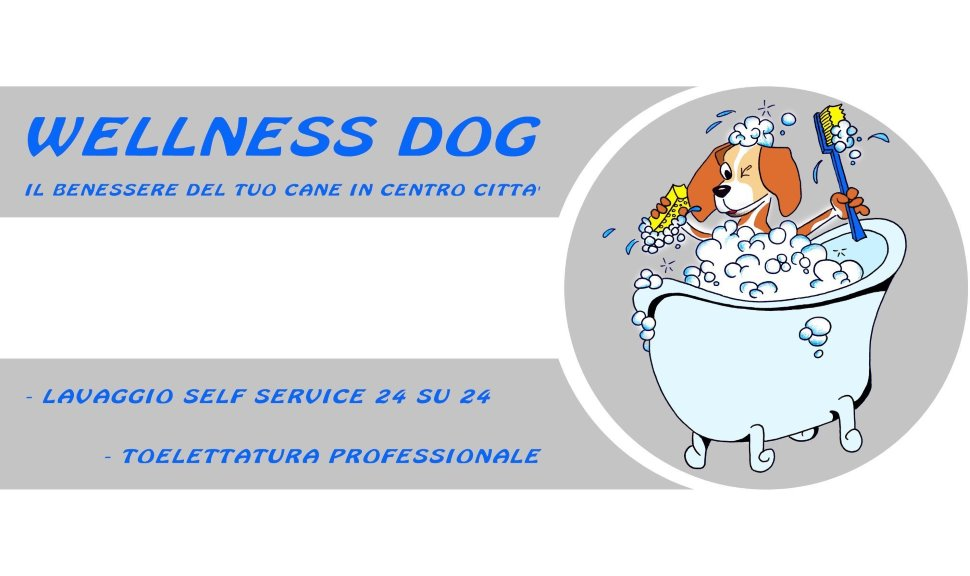 WELLNESS DOG: LAVAGGIO SELF SERVICE 24 SU 24 & TOELETTATURA PROFESSIONALE