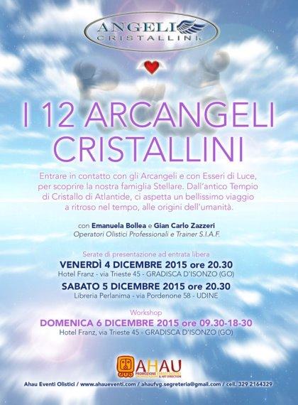I 12 ARCANGELI CRISTALLINI