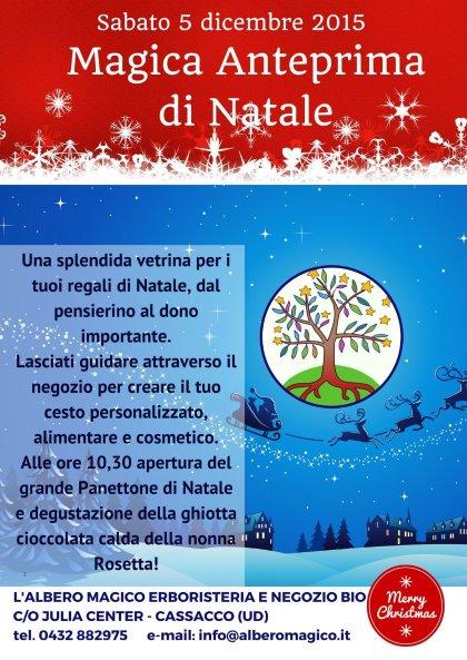 Magica Anteprima di Natale - 5 dicembre 2015