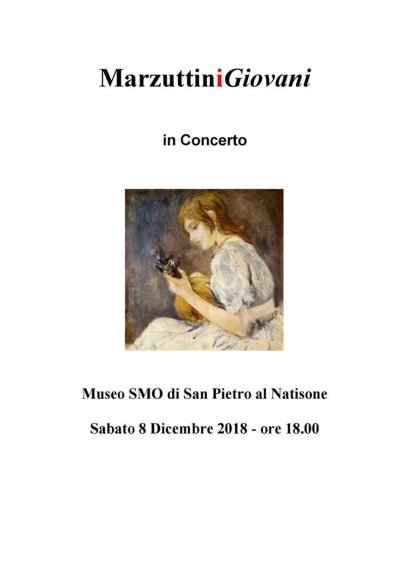 """""""Marzuttini Giovani in Concerto"""""""