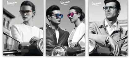 """Regala(ti) la nuova linea occhiali da vista e da sole """"VESPA"""". Solo da Ottica Allodi. A San Daniele."""