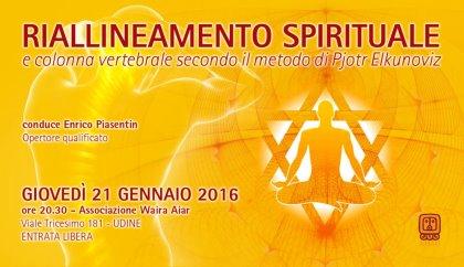 Riallineamento Spirituale e colonna vertebrale