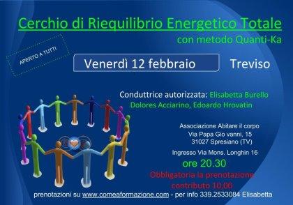 CERCHIO DI RIEQUILIBRIO ENERGETICO TOTALE