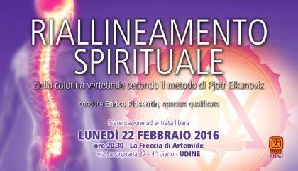 RIALLINEAMENTO SPIRITUALE DELLA COLONNA VERTEBRALE