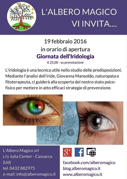Giornata dell'iridologia