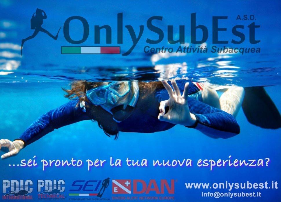 Attività subacquea, corsi subacquei a tutti i livelli con rilascio di brevetto Internazionale SEI Diving ISO UNI-EN.