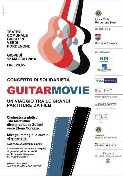 GUITAR MOVIE a Pordenone