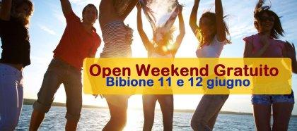 OPEN WEEK-END GRATUITO IN SPIAGGIA A BIBIONE