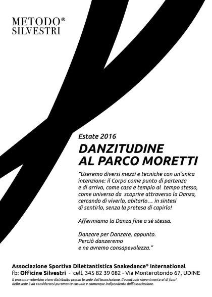 PROGETTO DanzitUdine ESTATE 2016 Danza secondo il Metodo Silvetri®