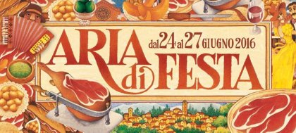 Dal 24 al 26 Giugno partecipa a 'Aria di Festa' a San Daniele per gustare tante specialità locali e ottimo vino